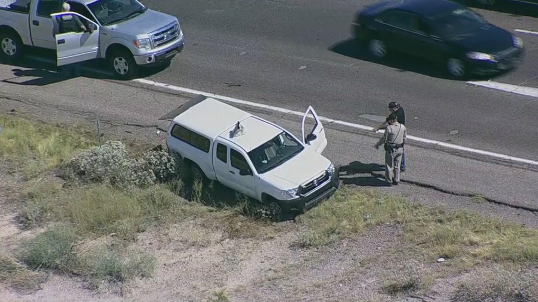 Motorcycle hits semi truck strange accident 31 12 2012 youtube -  Source 3tv Cbs 5