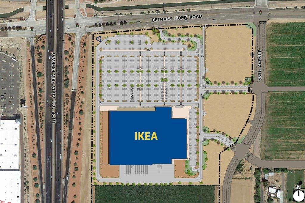 ikea announces plans for new store in glendale arizona 39 s