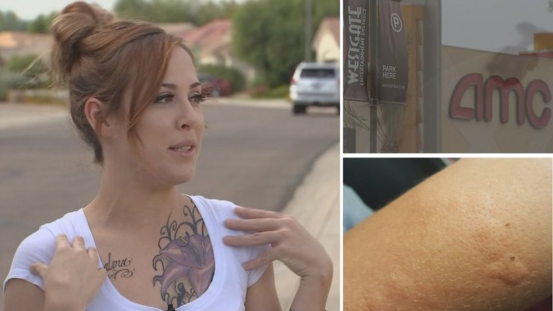 Woman claims she found bedbugs in a Glendale movie theater