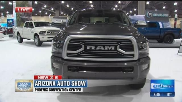 The Arizona Auto Show Takes Over The Phoenix Convention Center - Car show phoenix convention center