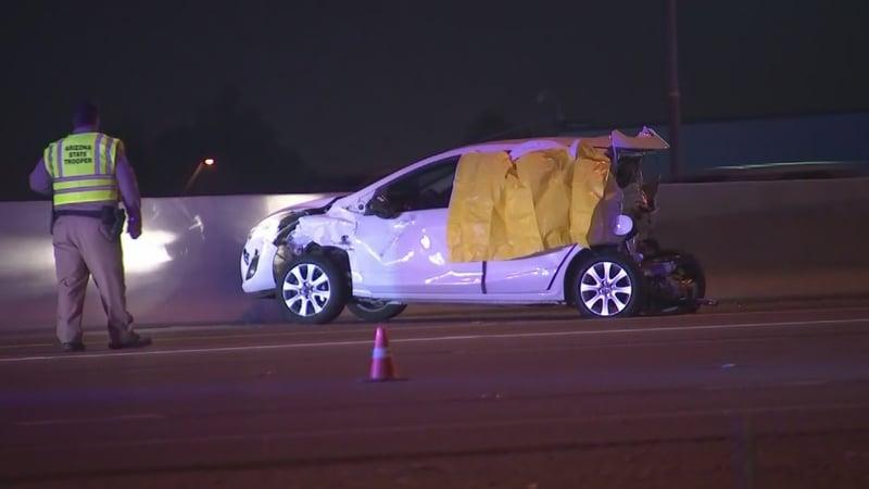 Deadly crash closes eb i 10 for several hours in avondale for Avondale motor vehicle division avondale az