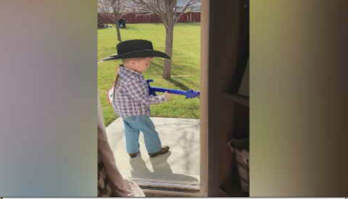 This Apache County Boy Jams to George Straits' Greatest Hits is Adorable 1