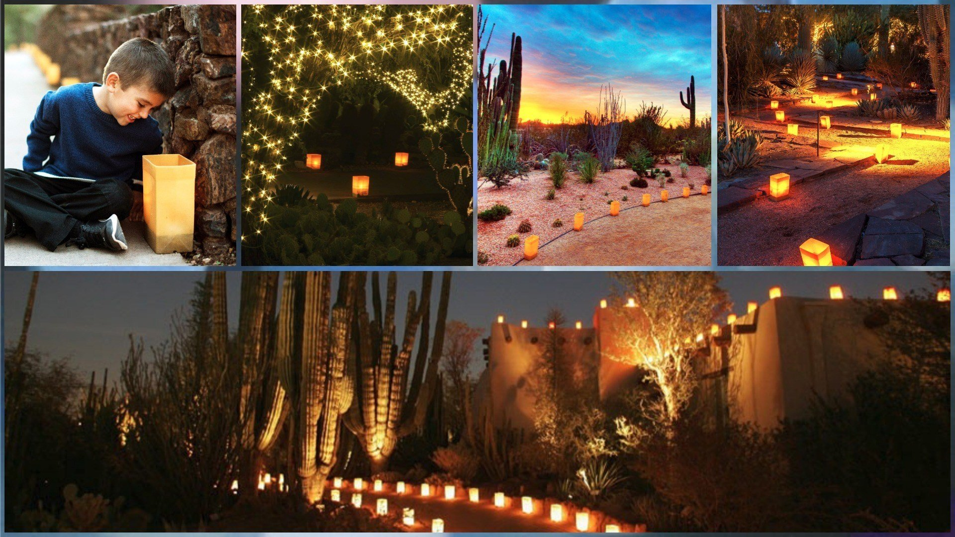 SLIDESHOW: Las Noches De Las Luminarias At Desert Botanical Gard   Arizonau0027s  Family