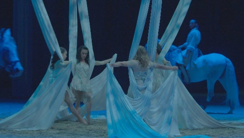 (Source Cavalia) & Huge white tent pops up in Scottsdale for Cavalia horse show ...