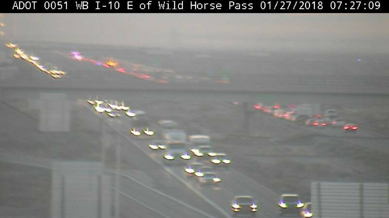 Dps pedestrian killed in crash on eastbound i 10 near for Department of motor vehicles chandler arizona