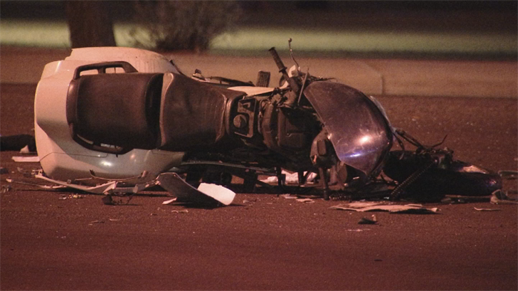 A Helmet Less Motorcyclist Is Dead After Motorcycle Accident In Phoenix Sunday Night