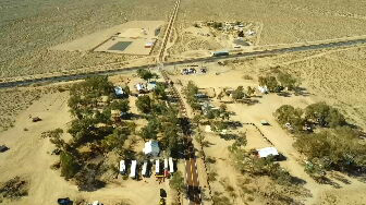 A Phoenix-based company is investing millions on an experiment in the California desert that revolves around cannabis. (Source: 3TV/CBS 5)
