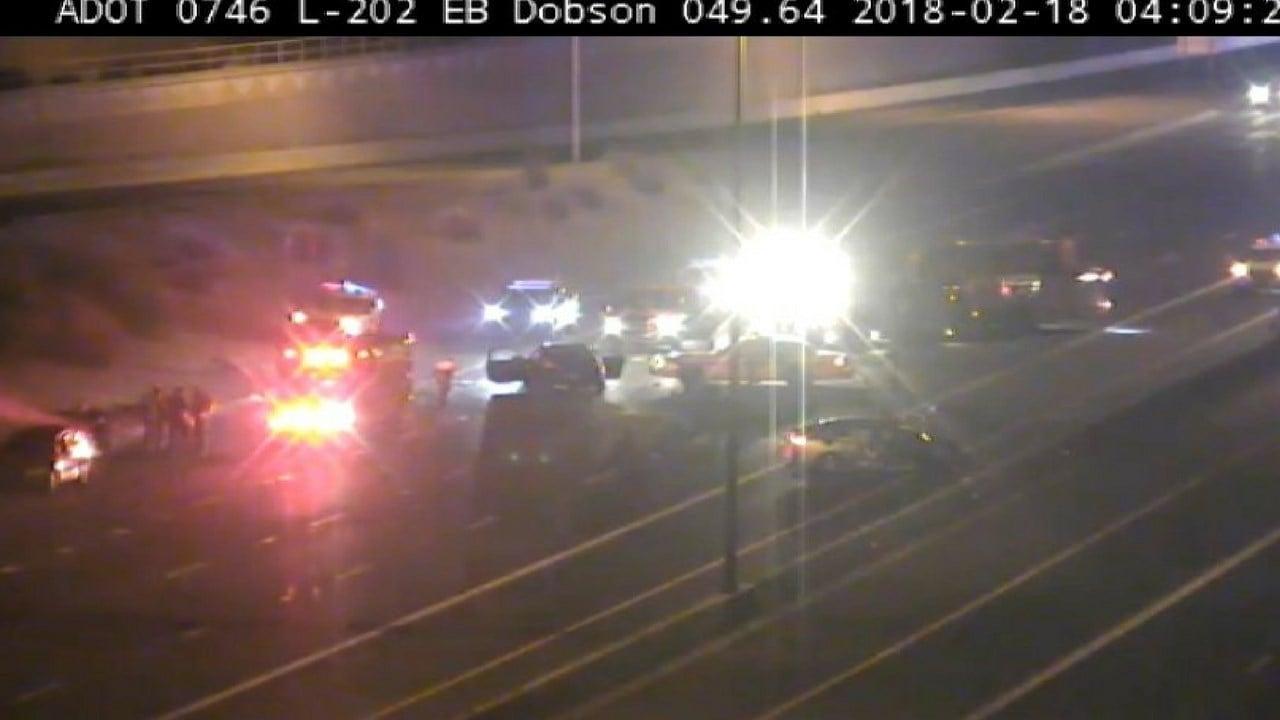 Dps investigating wrong way crash on loop 202 in chandler for Department of motor vehicles chandler az