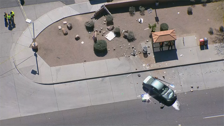 The victim was taken to the hospital. (Source: 3TV/CBS 5)