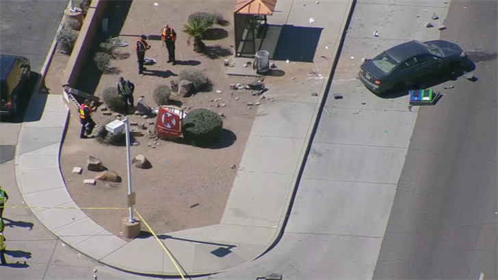 Police said the driver wasn't impaired,remained on scene and cooperated with officers. (Source: 3TV/CBS 5)