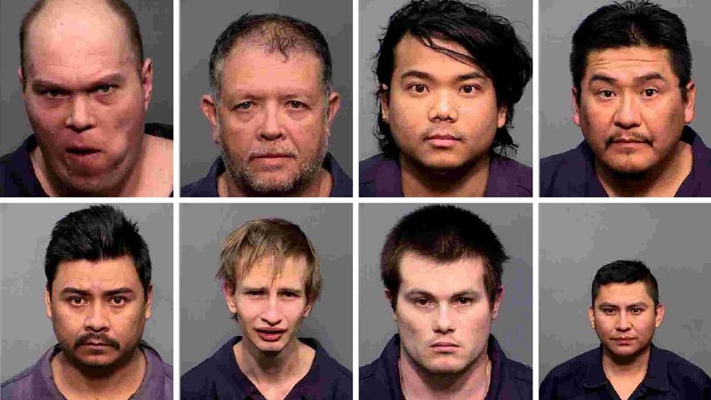 Clockwise from top left: Bradley Voight, 34; Maximo Marcilla, 52; Ong