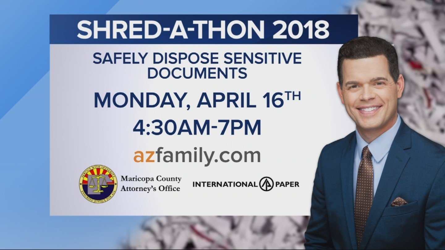 CBS 5 sponsored Shred-a-thon: Start boxing up those old ...