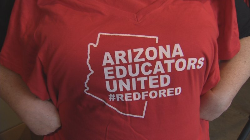 Cave creek man registers 39 red for ed 39 to try and block for Local t shirt printing company