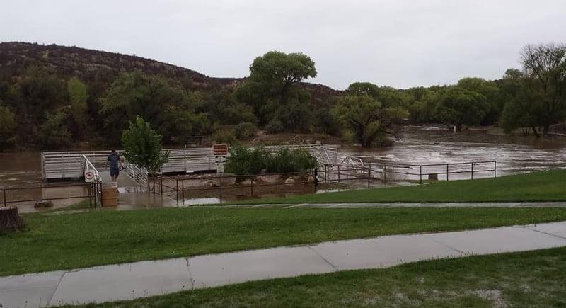 dramatic videos show massive flash flooding in prescott valley arizona 39 s family. Black Bedroom Furniture Sets. Home Design Ideas