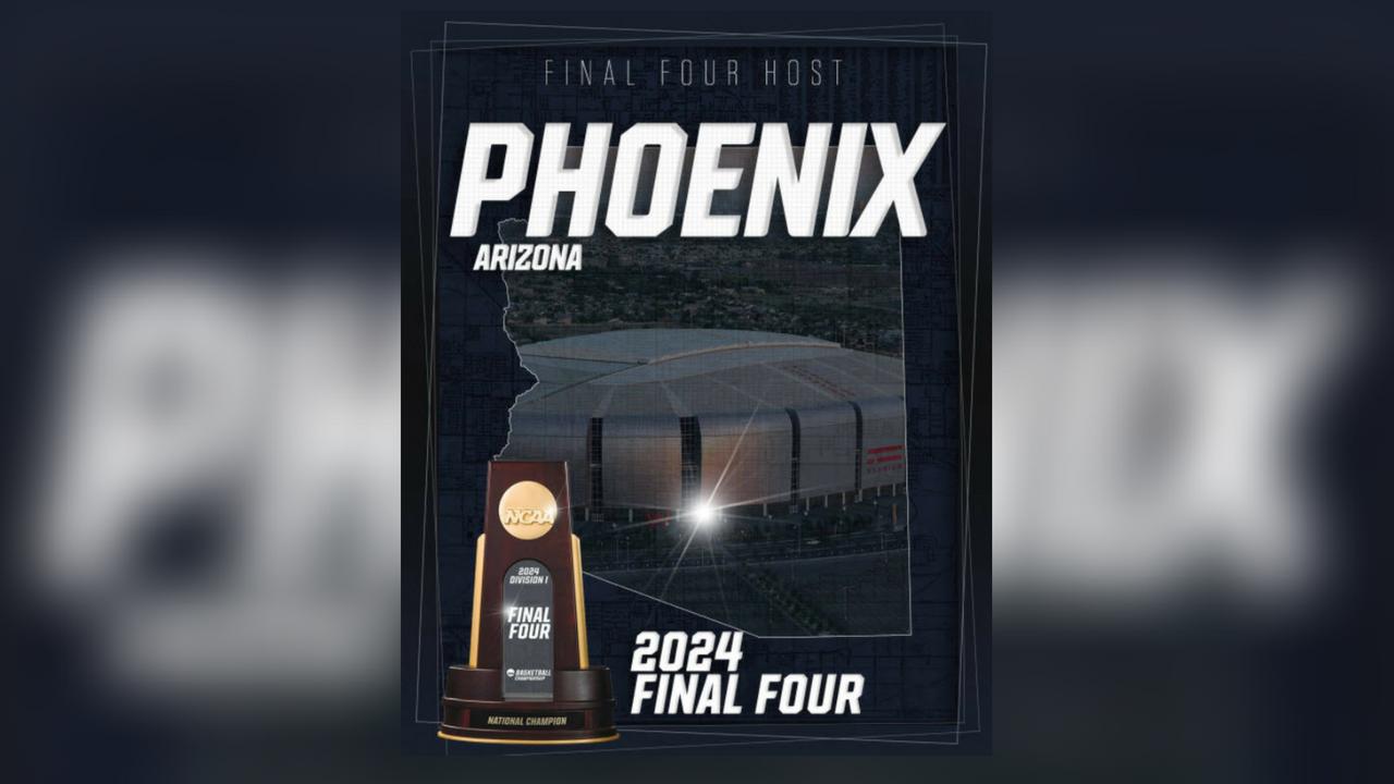 Phoenix, Glendale to host NCAA Final Four in 2024 - KSLA