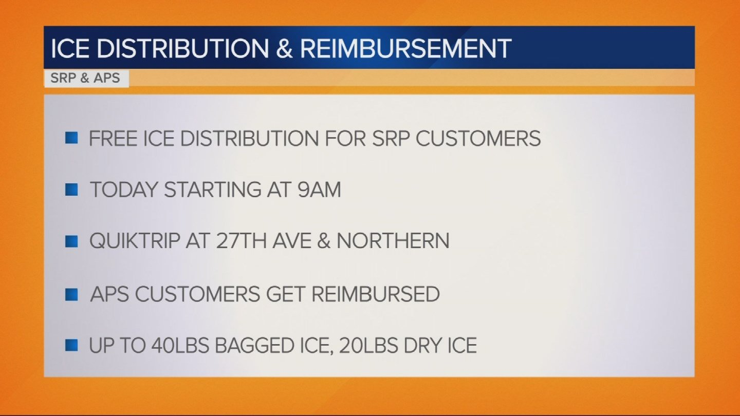 How To Get Free Ice For A Power Outage Kfve K5 Hawaii News Now