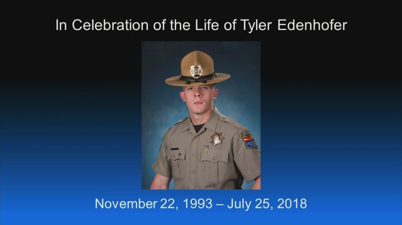 Hundreds pay their final respect to fallen  DPS Trooper Tyler Edenhofer. (Source: 3TV/CBS 5)Hundreds pay their final respect to fallen  DPS Trooper Tyler Edenhofer. (Source: 3TV/CBS 5)