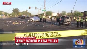 Mesa police arrest woman in fatal crash - FOX Carolina 21