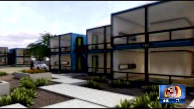 Shipping container apartments coming to downtown phoenix Container appartement