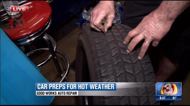 Vehicle care tips for triple digit heat
