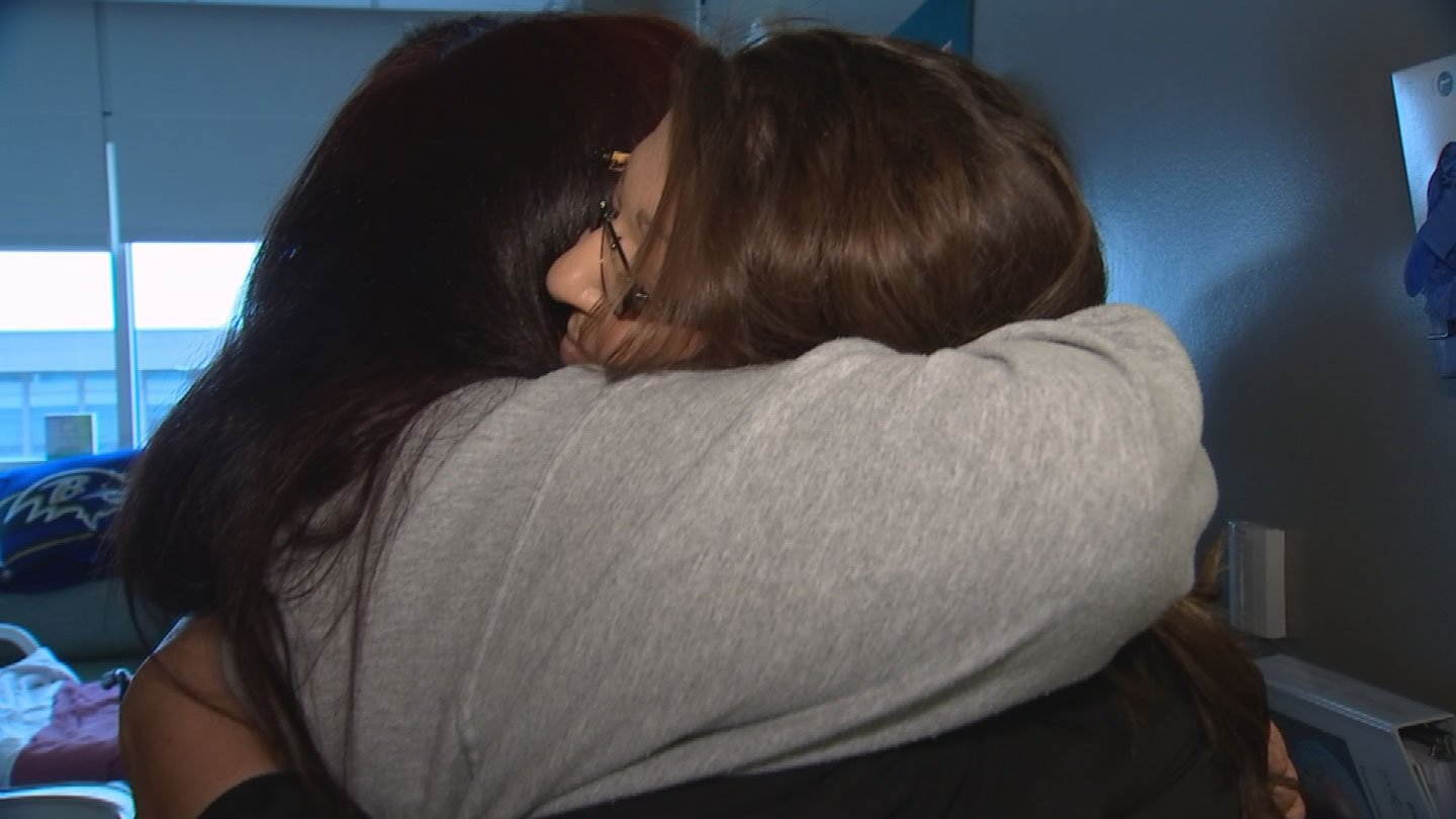 Rebecca Gonzales wanted to Pay It Forward to Jackie Lea. (Source: 3TV/CBS 5)
