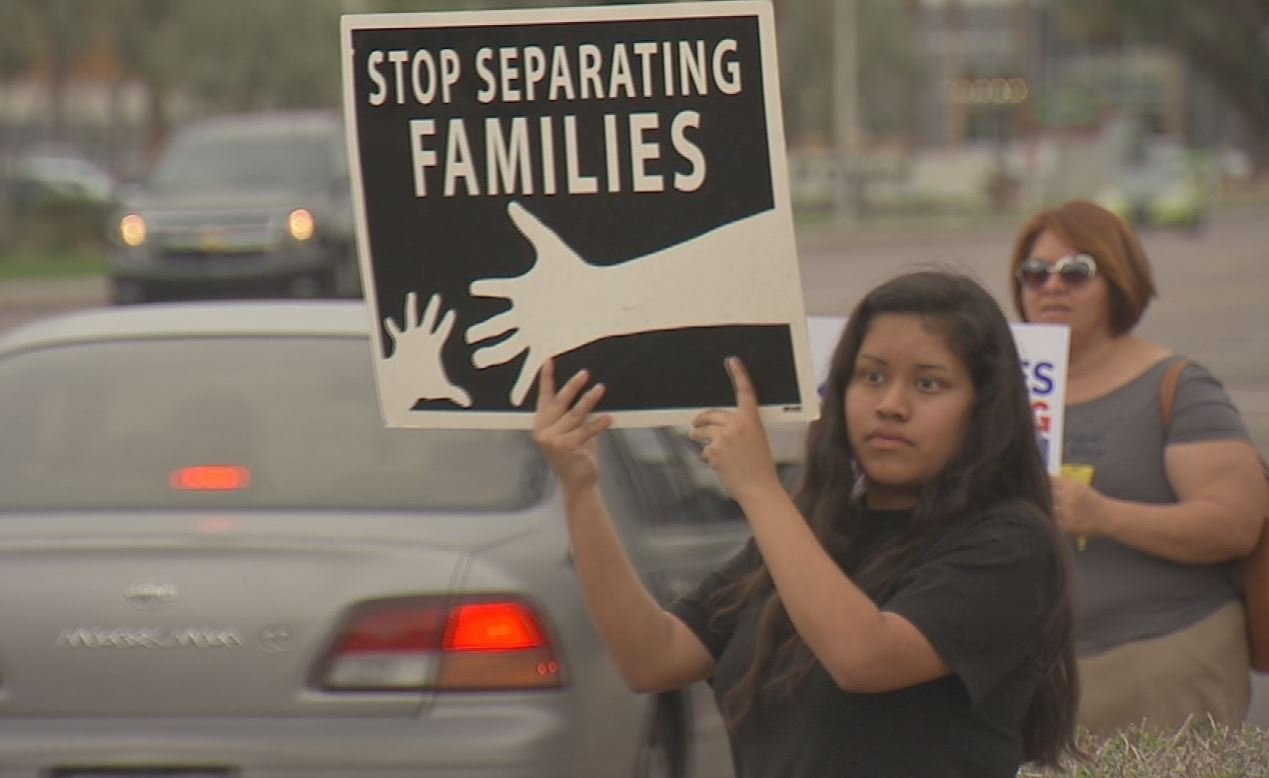 Critics of ICE operations say officers are being over-zealous when going after illegal immigrants. (Source: 3TV/CBS 5)