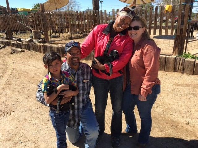 John and Sheila Robinson help disabled children on their Phoenix ranch. (Source: 3TV/CBS 5)