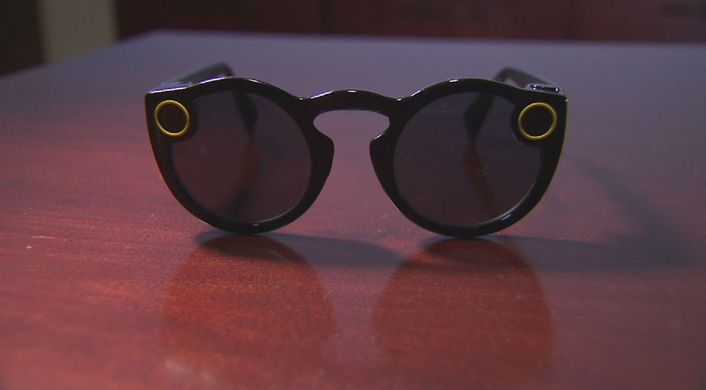 Privacy advocates worry that Snap Spectacles could be used, purposely or inadvertently, to record people in compromising positions without consent or knowledge. (Source: 3TV/CBS 5)