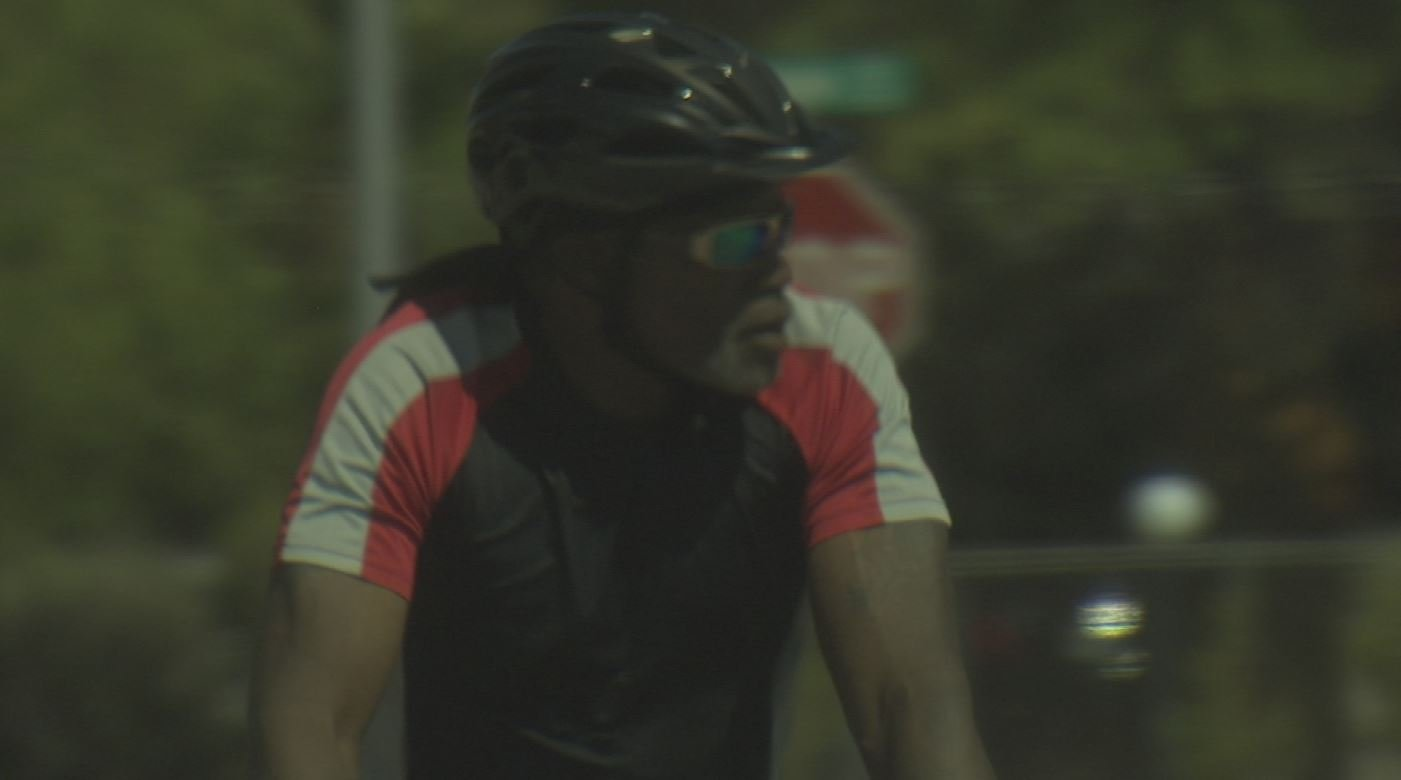 Convicted killer William Huff was spotted riding his bicycle through a Tucson neighborhood. (Source: 3TV/CBS 5)