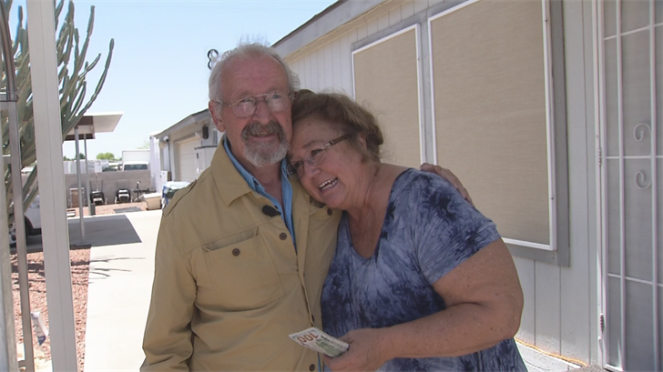 Beckie Miller leads a group that helps parents who have lost their children too early so Walter Pendleton decided to Pay It Forward. (Source: 3TV/CBS 5)