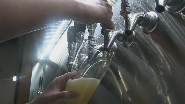 A first-of-its-kind mobile treatment plant will begin purifying wastewater next month to help create beer. (Source: 3TV/CBS 5)