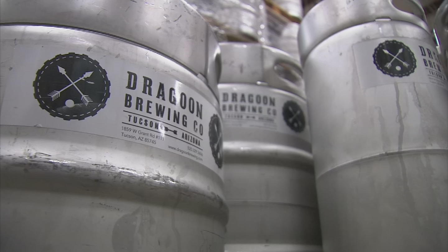 Dozens of breweries have signed on or expressed interest in the bracket-style beer competition, including O.H.S.O. Brewery in Phoenix, and Tucson-based Dragoon Brewing Company and Dillinger Brewing Company. (Source: 3TV/CBS 5)