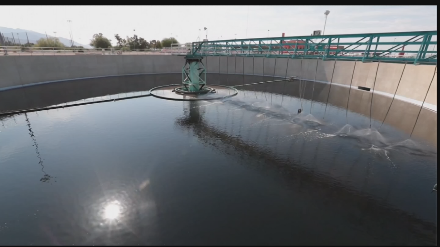 Although unlikely to be a major source of drinking water in the near-term, Jeff Prevatt said purified wastewater could be a critical backup supply in some water-strapped communities. (Source: 3TV/CBS 5)