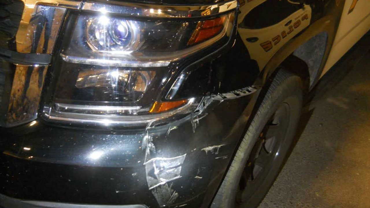 Nine police vehicles have been damaged by minor accidents since April 5compared to six in all of 2016, said Chief Mark McCrory. (Source: Casa Grande Police Dept.))
