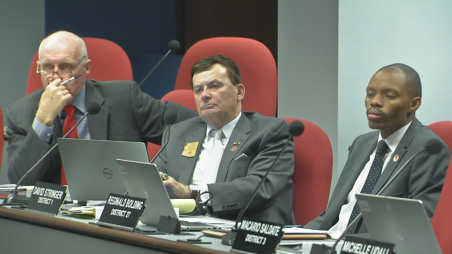 "Douglas told committee members that replacing APOR/CHAR was the Department of Education's ""greatest need."" (Source: 3TV/CBS 5)"