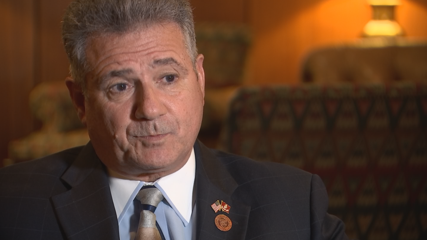 State Sen. Sonny Borrelli said the accurate labeling requirement would also apply to THC content. (Source: 3TV/CBS 5)