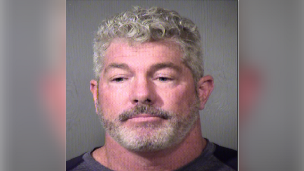 Todd Jostes booking photo. (Source: 3TV/CBS 5)