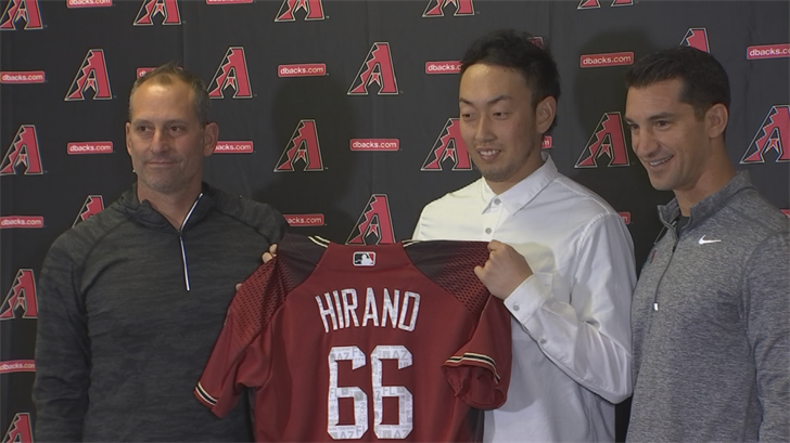 Hirano signed a two-year, $6 million dollar deal last December.(Source: 3TV/CBS 5)
