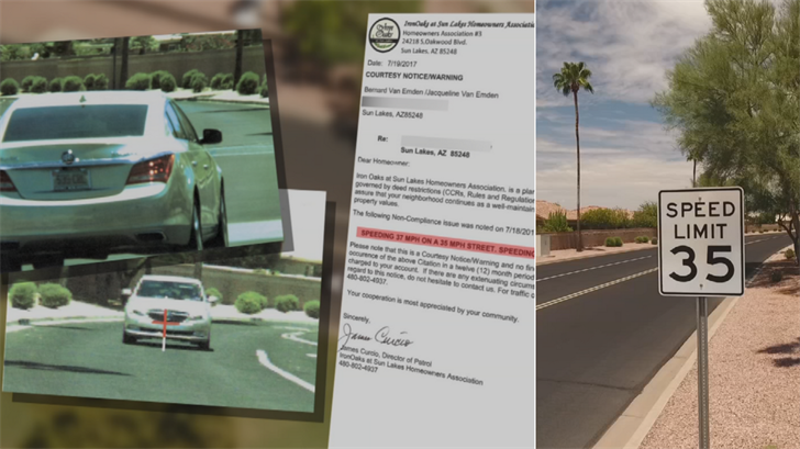 A new bill would outlaw HOAs from using radar guns to enforce speed limits and issuing tickets to homeowners. (Source: 3TV)