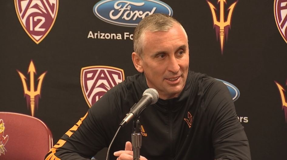 Sun Devils head coach Bobby Hurley discusses his relationship with Arizona Wildcats fans. (Source: 3TV/CBS 5)