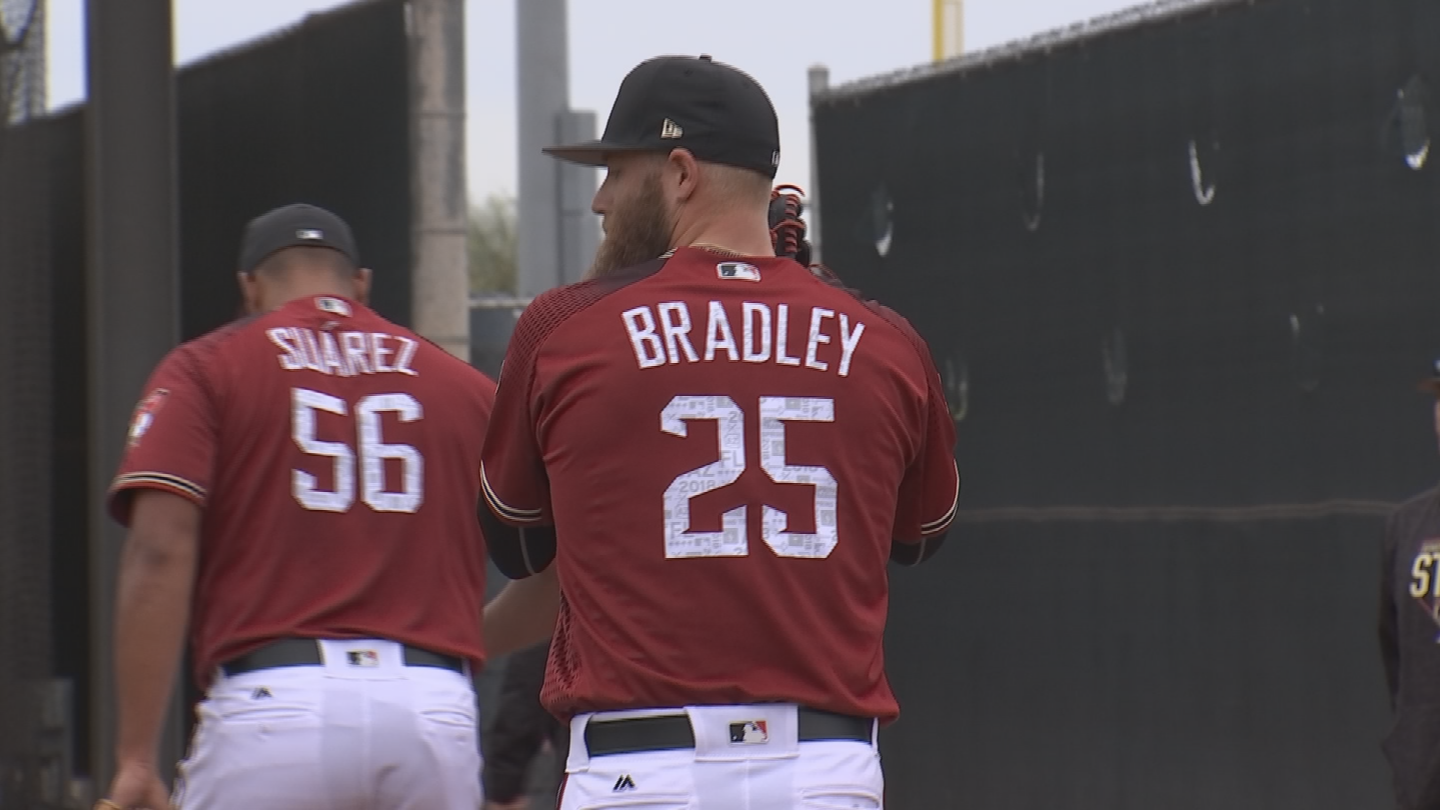 Archie Bradley is in the running to be the D-backs' next closer. (Source: 3TV/CBS 5)