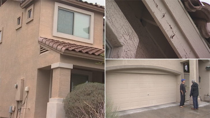 A homeowners association in north Phoenix is telling homeowners to paint their houses by the end of July. (Source: 3TV/CBS 5)