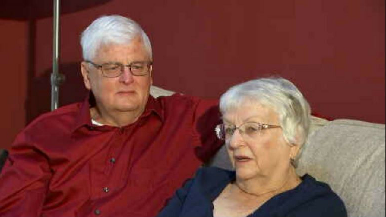 Ahwatukee residents Larry and Mary Litchfield celebrated their golden anniversary in October. (Source: 3TV/CBS 5)