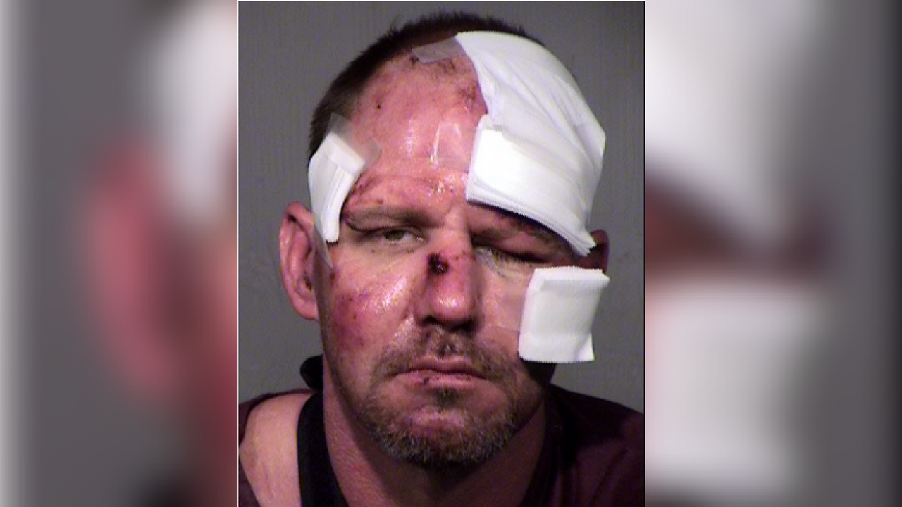 Jesse McCullough, 46, arrested after a standoff with Mesa PD. (Source: Mesa Police Department)