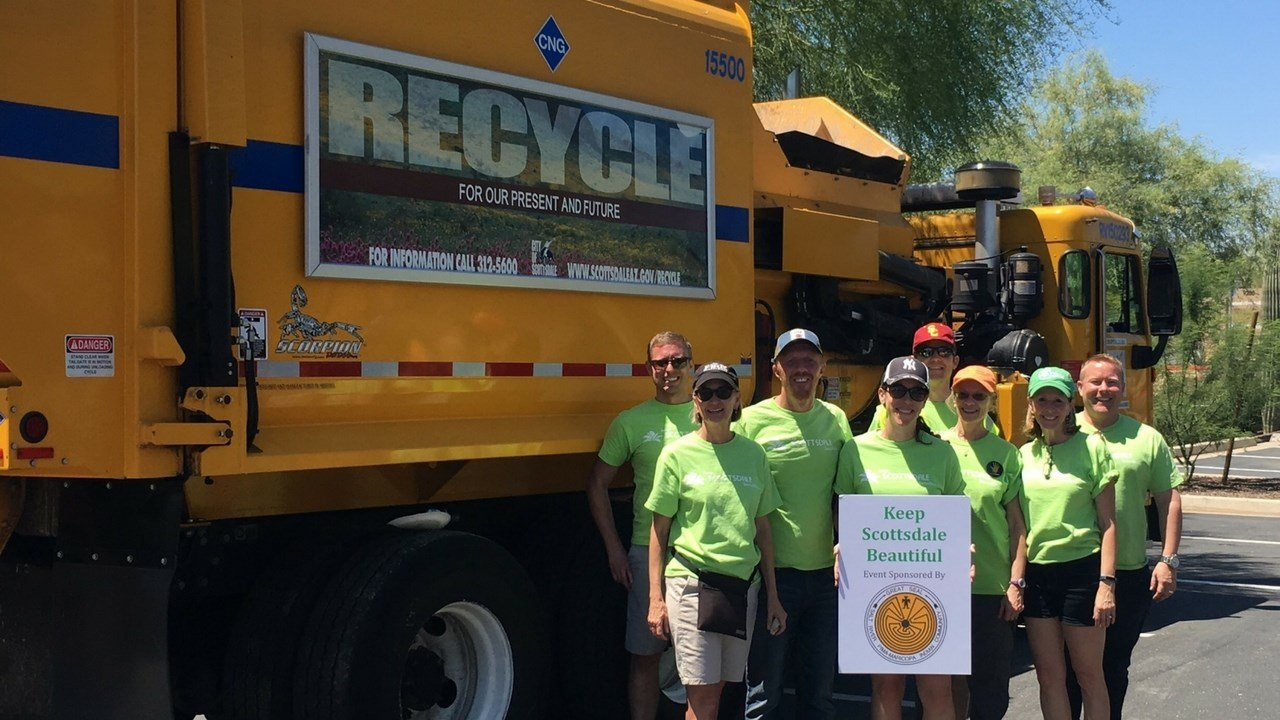 This Saturday, Keep Scottsdale Beautiful is hosting its fifth-annual I Recycle Scottsdale, a one-stop recycling event to help families get rid of items that are harder to recycle. (Source: Keep Scottsdale Beautiful)