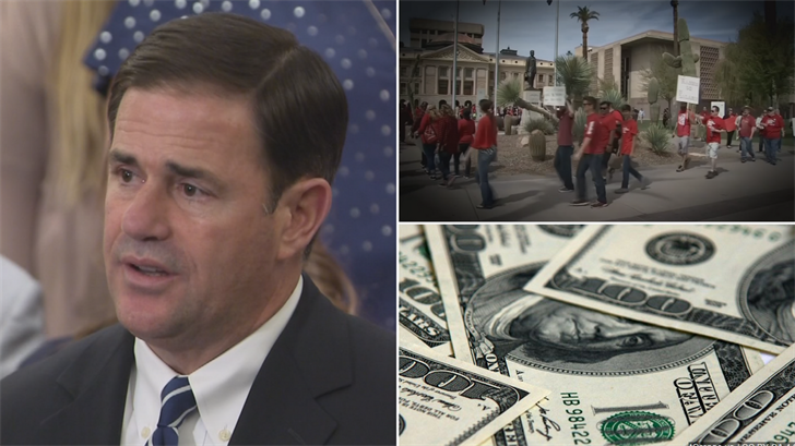 The governor's proposal shifts millions of dollars away from programs that were expecting funding increases to pay for the teacher raises. (Source: 3TV/CBS 5)