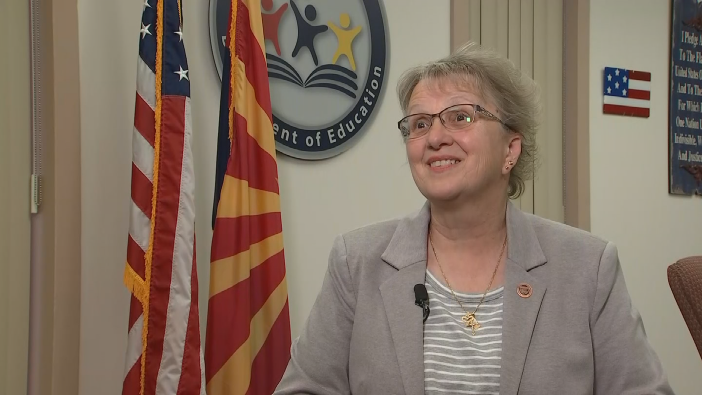 Douglas said that she does not believe a teacher walkout is the right approach to solving the education funding crisis in Arizona. (Source: 3TV/CBS 5)