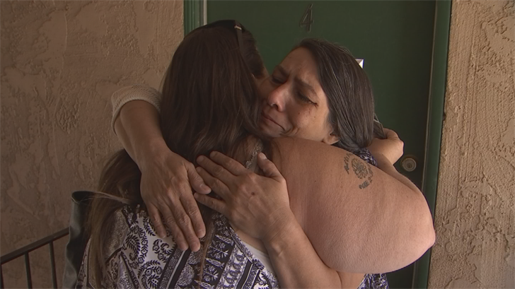 Co-worker Peggy Hernandez has seen what a struggle it's been for Mahan, so she reached out to CBS 5 to Pay it Forward to the selfless grandmother. (Source: CBS 5)