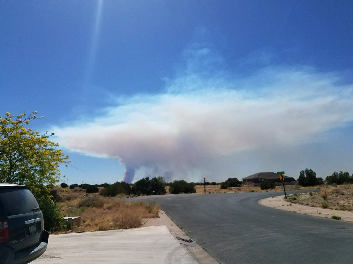 The fires have forced evacuations in the Heber area. (Source: Ken Dewitt)
