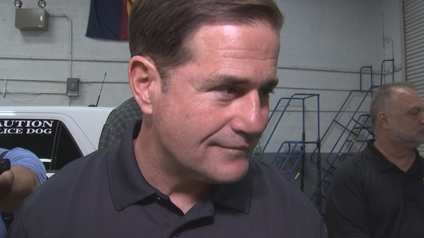 Gov. Doug Ducey, who is staunchly anti-abortion, ducked questions Friday on whether he would try to criminalize the procedure should the composition of the highest court in the country change. (Source: 3TV/CBS 5)